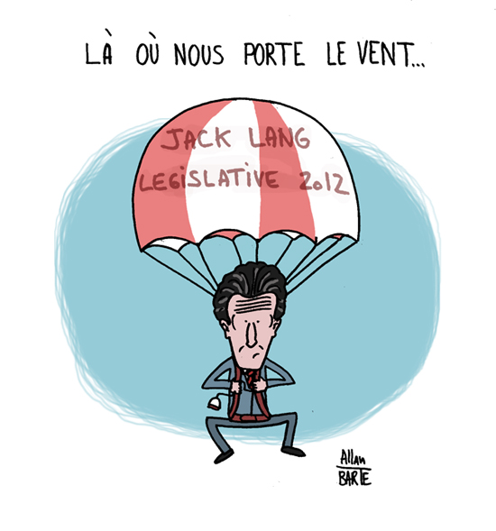 jack lang législatives parachute circoncription PS