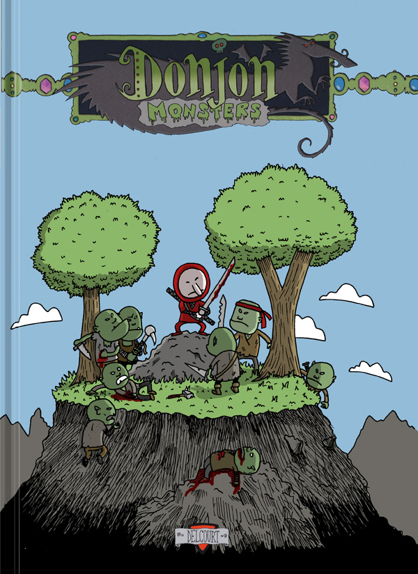 Couverture Donjon Monsters